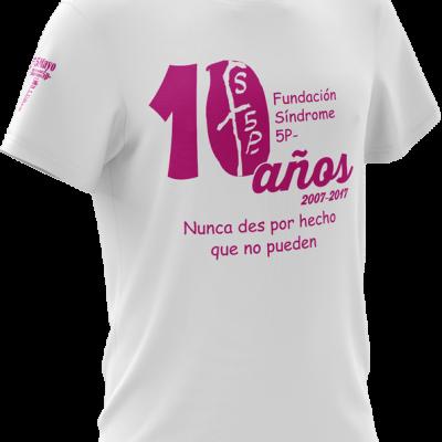 camiseta magenta X Aniv