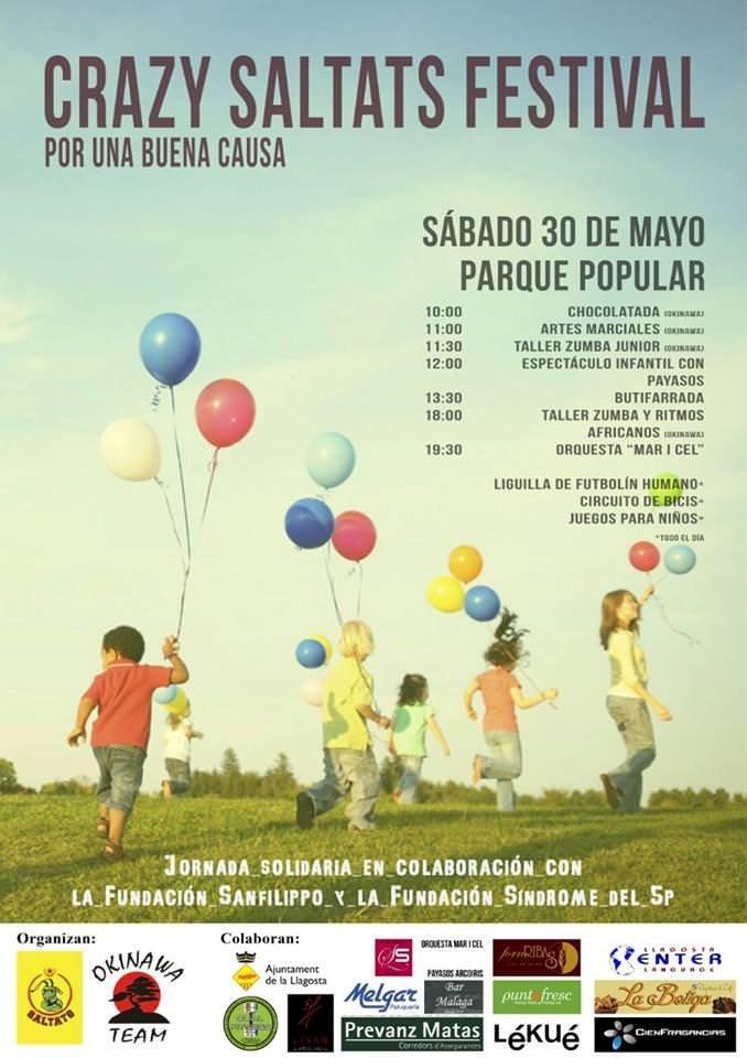 Festival en La LLagosta: Crazy Saltats Festival