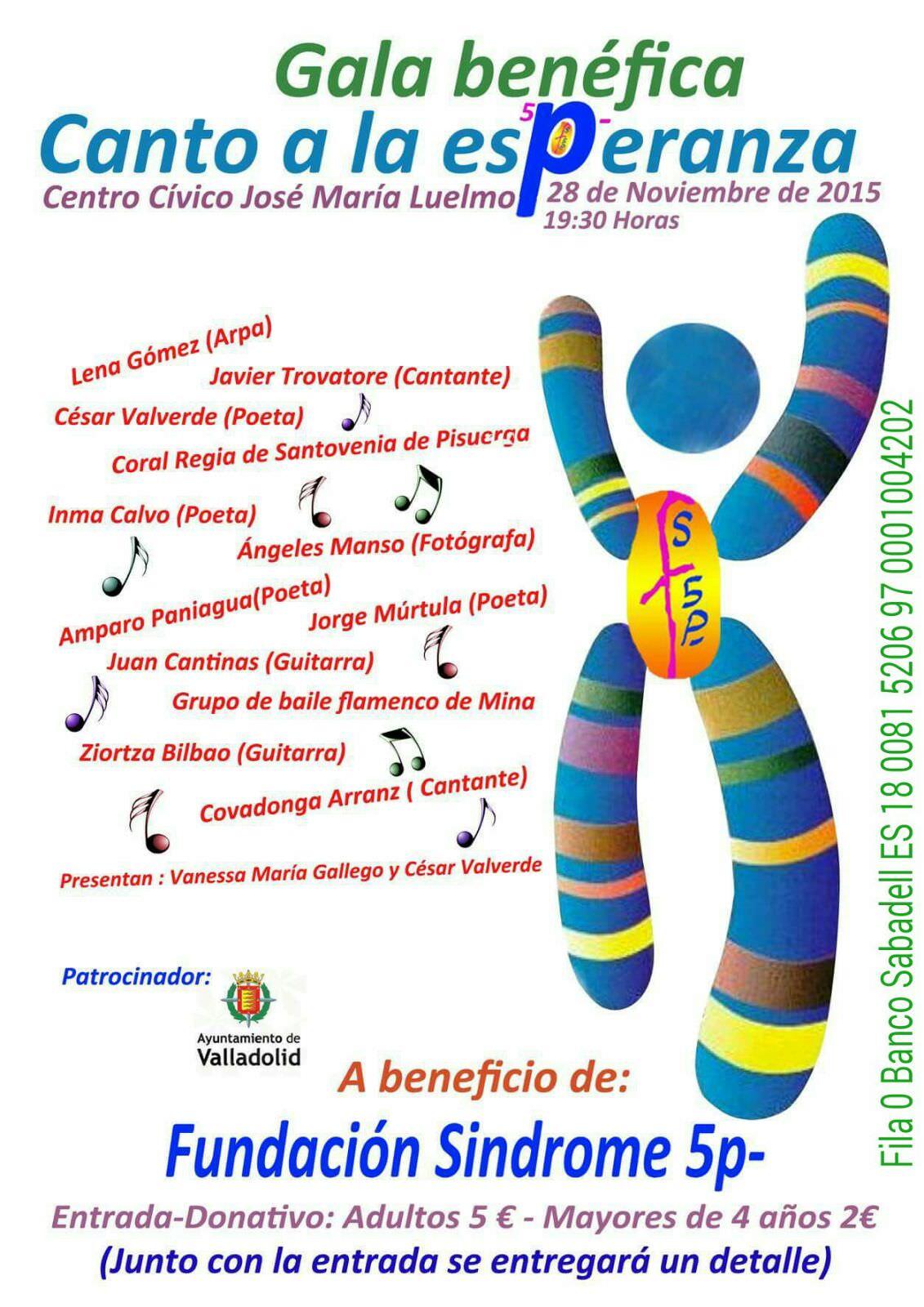 Gala benéfica Canto a la Esperanza (Valladolid)