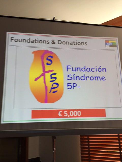 Entrega donación por parte de Asociación Internacional de Diplomáticos (AIDE)