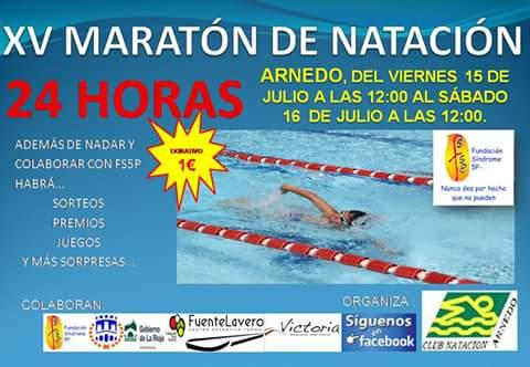 XV Maraton de Natacion a beneficio de la Fundación