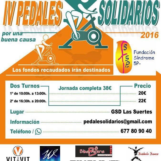 IV Pedales Solidarios para l@s niñ@s de la Fundacion