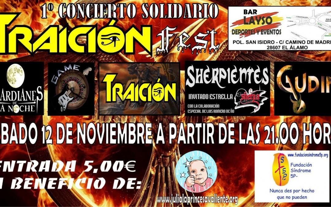 1er Concierto Solidario Traicion Fest
