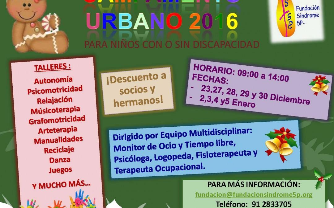 Campamento Urbano 2016