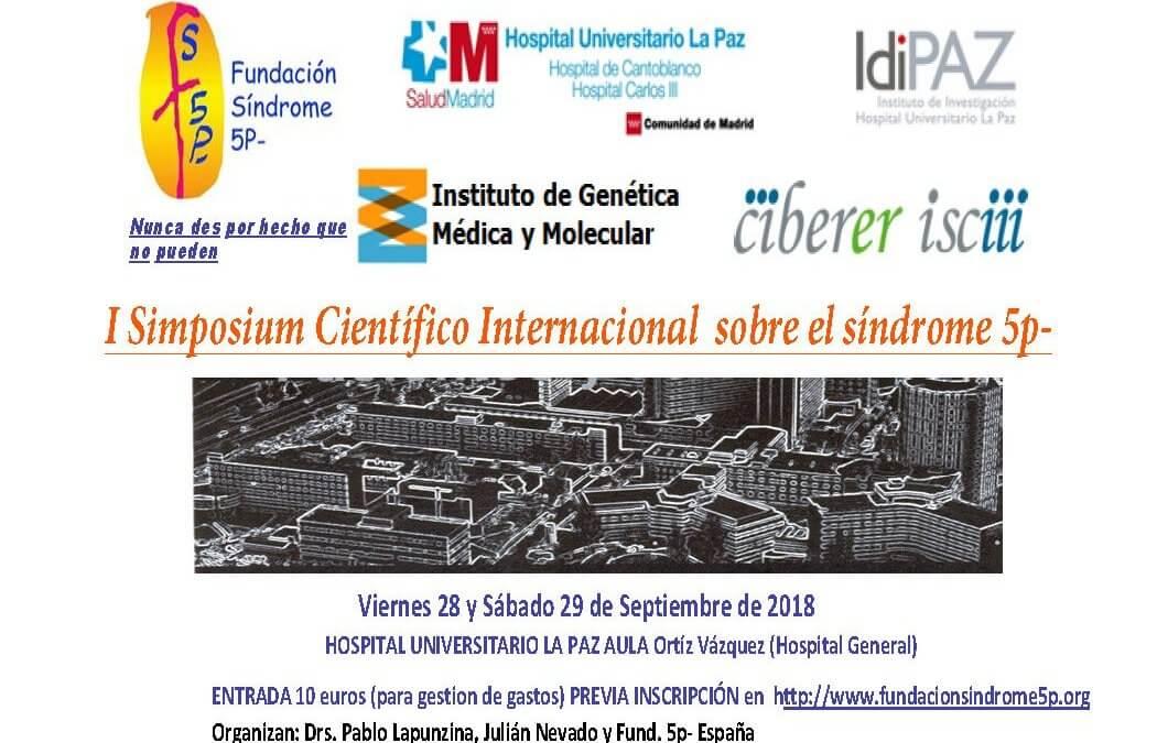 I Simposium Internacional sobre el Sindrome 5p