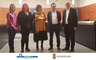 Agradecimientos a Texlimca y Ayto. de San Vicente