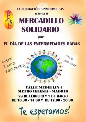 Mercadillo solidario síndrome 5p-