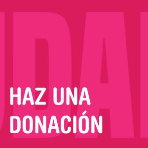 Haz una donación