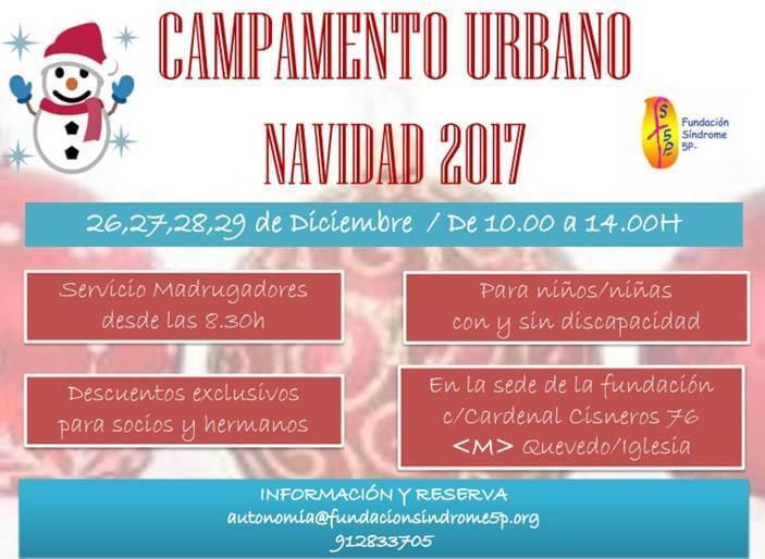 Campamento Urbano de Navidad en Madrid