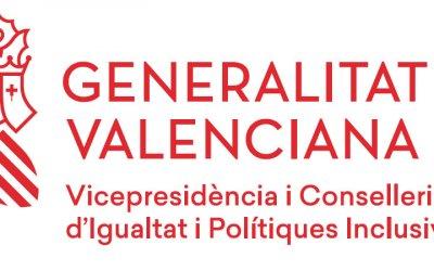 Financiación concedida por la Vicepresidència i Conselleria d'Igualtat i Polítiques Inclusives