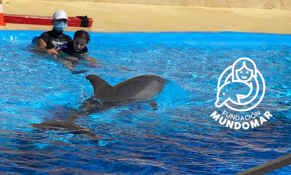 Terapia con Delfines y Fundación Mundomar