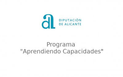 Agradecimientos a la Diputación de Alicante