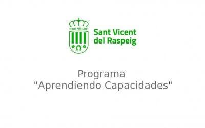 Agradecimientos al Ayuntamiento de San Vicente del Raspeig