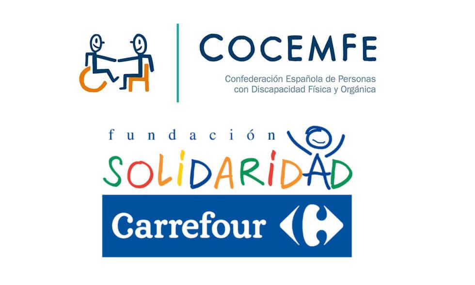 COCEMFE y Fundación Solidaridad Carrefour